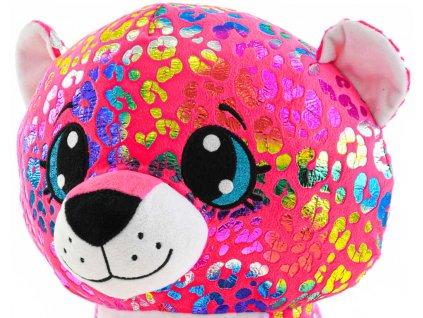 PLYŠ Leopard Rainbow Star Sparkle 24cm *PLYŠOVÉ HRAČKY*