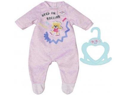 ZAPF BABY BORN Dupačky obleček set s ramínkem pro panenku miminko