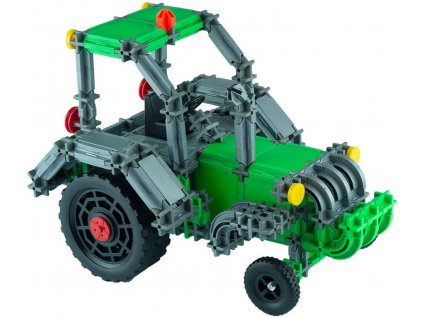 SEVA DOPRAVA Traktor polytechnická STAVEBNICE 384 dílků