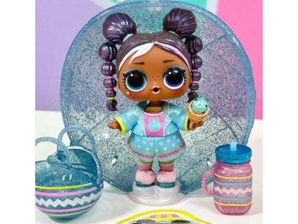 L.O.L. Surprise! CHICK-A-DEE panenka třpytková velikonoční 7 překvapení v kouli