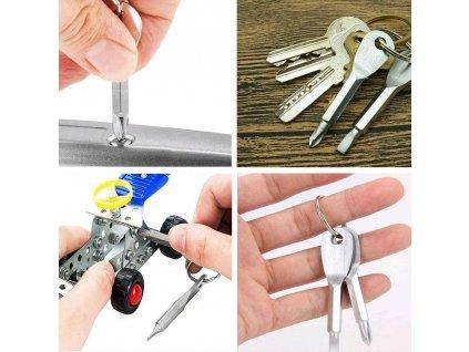 Mini šroubováky na klíče