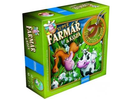 GRANNA Hra Superfarmář a koza Limitovaná edice *SPOLEČENSKÉ HRY*
