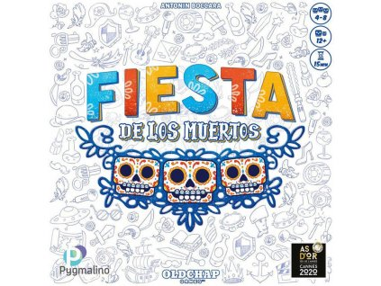 PYGMALINO Hra Fiesta de los Muertos *SPOLEČENSKÉ HRY*