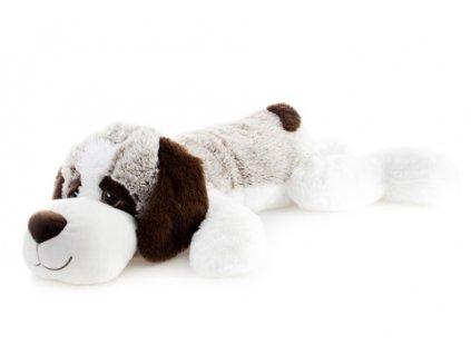 Plyš pes ležící 105 cm