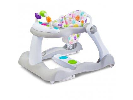Dětské chodítko Bounce 3v1 Toyz - šedá