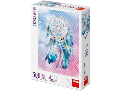 DINO Puzzle 500 dílků XL Lapač snů 47x66cm skládačka
