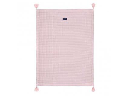 Dětská bavlněná deka vafle Womar 75x100