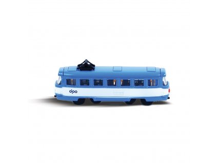 Tramvaj kovová mini DPO Ostrava 8.5 cm
