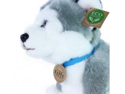 PLYŠ Pes husky 25cm sedící Eco-Friendly *PLYŠOVÉ HRAČKY