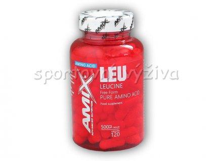 Leucine Pure Amino Acids 120 kapslí
