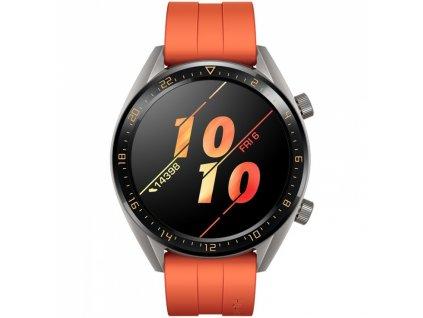 Huawei Watch GT Orange Fluoroelastomer Strap