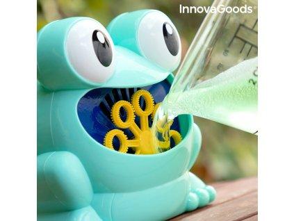 Automatický stroj na mýdlové bubliny Froggly InnovaGoods