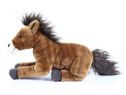 PLYŠ Kůň hnědý 35cm ležící *PLYŠOVÉ HRAČKY*