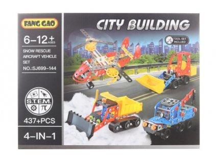 Šroubovací stavebnice - dopravní prostředky