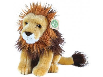 PLYŠ Lev sedící 18cm Eco-Friendly