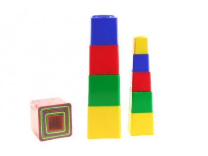 Pyramida kubus hranatá