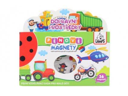 Pěnové magnety Dopravní prostředky