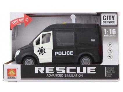 Auto policie baterie