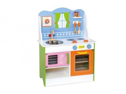Dřevěná kuchyňka  + Nanopodložka nebo propiska