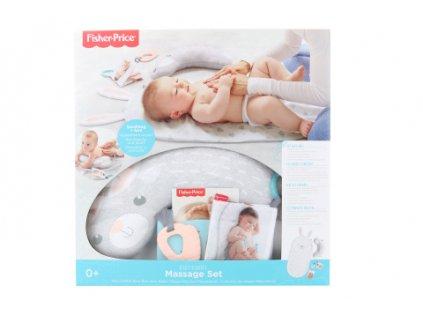 Fisher Price Masážní dečka baby bunny GJD32  + Nanopodložka, loupač, nebo desinfekce