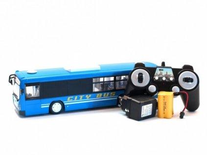 Městský autobus na dálkové ovládání - modrý  + Dárek zdarma