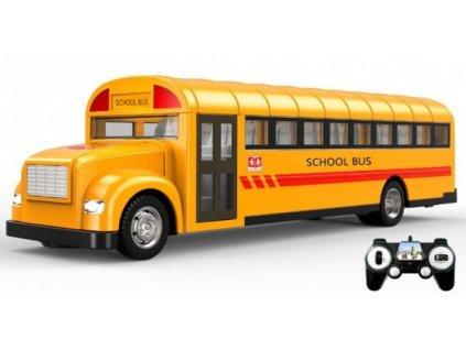 Americký školní autobus 33 cm na dálkové ovládání  + Dárek zdarma