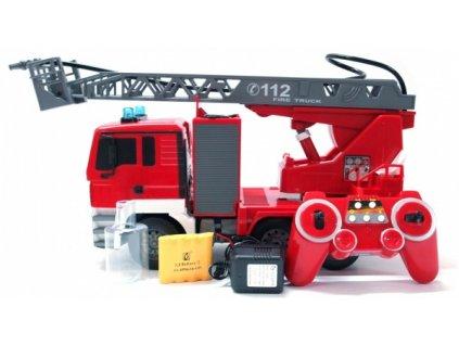 RC hasiči MAN s opravdovým vodním dělem 2.4GHz  + Dárek zdarma