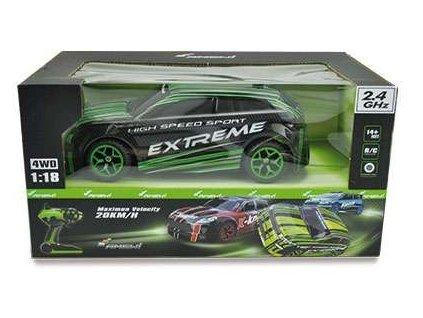 Auto X-Knight 1:18 RTR, 4WD - Zelená  + Nanopodložka, loupač, nebo desinfekce