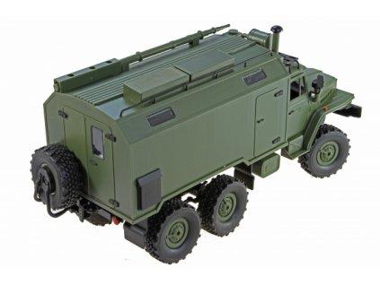 URAL 6x6 proporcionální vojenský truck 1:16 RTR  + Nanopodložka, loupač, nebo desinfekce