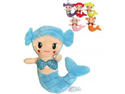 PLYŠ Panenka mořská panna 20cm 6 barev