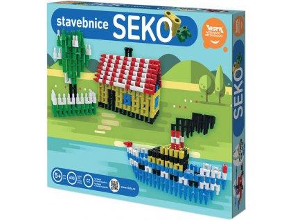 SEVA SEKO 4 Polytechnická STAVEBNICE 600 dílků