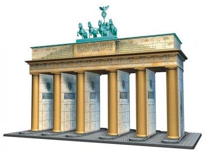 RAVENSBURGER Puzzle 3D Brandenburská brána  + Dárek zdarma
