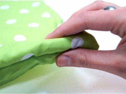 LUDI Baby hrací deka pratelná XXL sovičky a stromy 140x140cm pro miminko  + Nanopodložka, loupač, nebo desinfekce