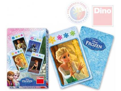 DINO Hra karetní Kvarteto Frozen (Ledové Království) *SPOLEČENSKÉ HRY*