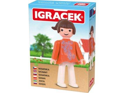 EFKO IGRÁČEK Maminka figurka 7,5cm rodina v krabičce STAVEBNICE