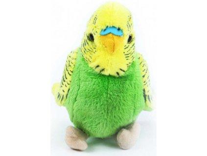 PLYŠ Andulka 12cm plyšový ptáček 2 barvy *PLYŠOVÉ HRAČKY*