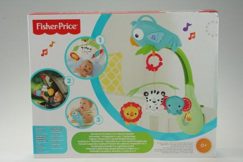 Fisher Price kolotoč 3 v 1 Rainforest CHR11