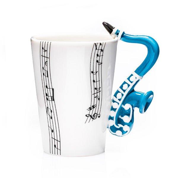 Lamps Hudební hrnek - saxofon
