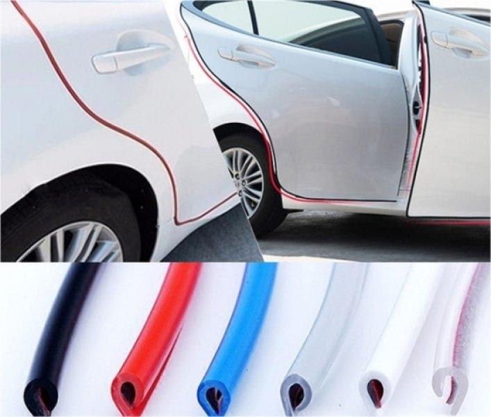 Dudlu Ochranné lišty na auto Varianta: červená