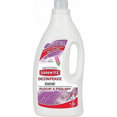 Dudlu Sanitiz dezinfekce na plochy a podlahy, 1,5 l