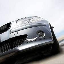 Dudlu Nálepka na auto - Batman Dark Knight - bílá