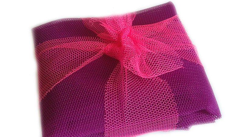 Dudlu Sáčkovka Ekologická taška nákupní fialová