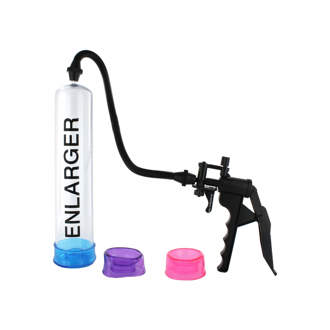 Dudlu Vakuová pumpa pro muže a 3 manžetami na penis X-Factor Enlarger