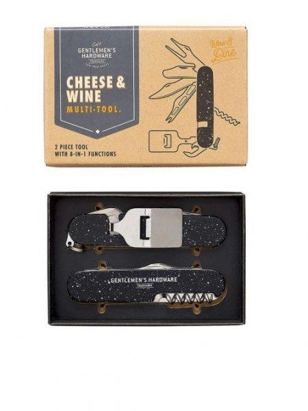 Dudlu Multifunkční nástroj na víno a sýr