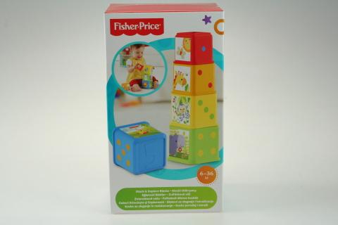 Dudlu Fisher Price zvířátková věž CDC52
