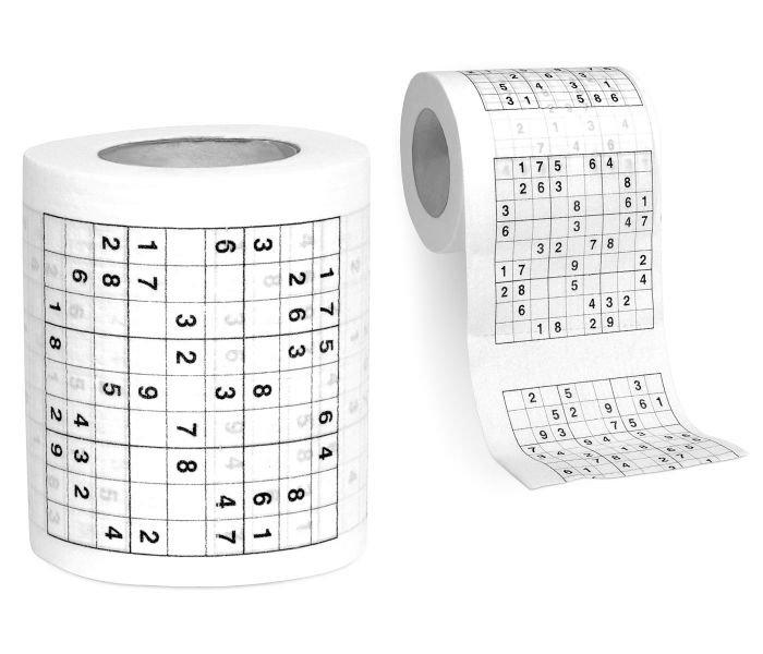 Dudlu Toaletní papír se sudoku