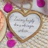 HOUSEDECOR Srdce pro radost - Každý den s vděčným srdcem