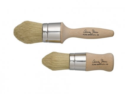 Chalk Paint Wax Brushes Large and Small