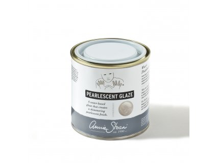 Pearlescent Glaze 250ml tin lid on
