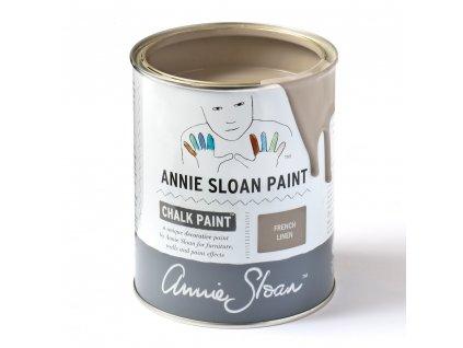 French Linen tin sq